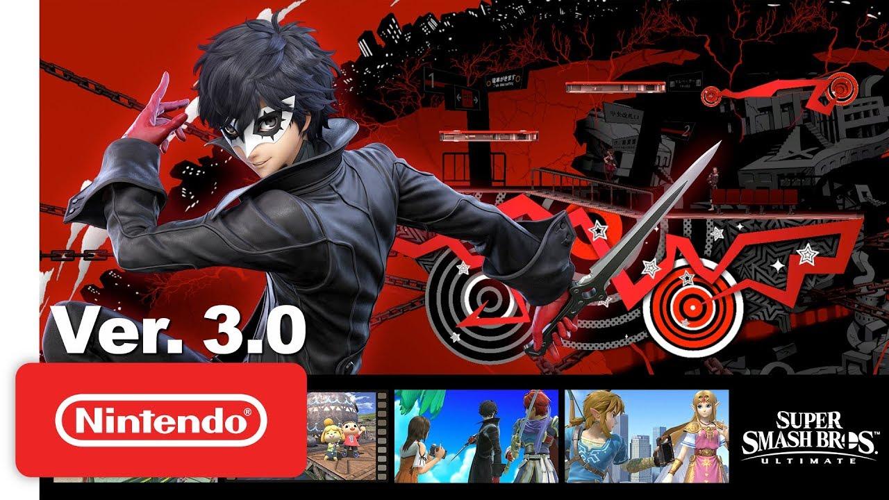 Nintendo Perlihatkan Joker dan Banyak Fitur Baru di Update 3.0 <em>Super Smash Bros. Ultimate</em>